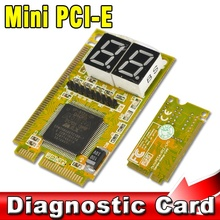 2015 Hot Mini 3 in 1 PCI PCI-E Diagnostic Combo Debug Test Card for LPC Laptop PC Express Card Tester Analyzer