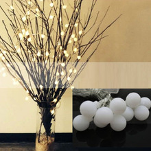 2M 20 LED Battery Operated LED String Lights for Xmas Garland Party Wedding Decoration Christmas Fairy Lights(China)