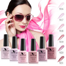 #61508 Nail Art Venalisa Nail Gel Polish Series UV/LED Gel Lacquer Soak Off 7.5ml Color Gel Polish Set(China)