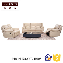 asia elegant design home furniture modern set best sell leather sofa buy online(China)