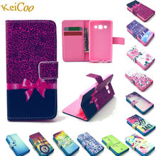 Leisure Print PU Leather Covers For Alcatel pop touch C7 Cases Book Flip Art Wallet Full Protect Shockproof Housing poptouch C 7