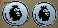 Best quality 1617 NEW Premier League white soccer patch NEW EPL 1617 game soccer patch free shipping