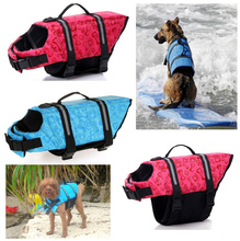 Small Large Dog Life Jacket Vest Buoyancy Aid For Boating Sailing Swimming Water