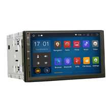 Pure android 4.4.4 Universal 2 DIN Car GPS Interchangable Car Head Unit With Mirror Link No DVD Capacitive screen Stereo NAVI