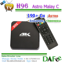 Quality Stable 4K Android TV Box HDTV Malaysian Indonesia Live IPTV 1 year Subscription Apk 180+ Channels Free Trial DHL Ship