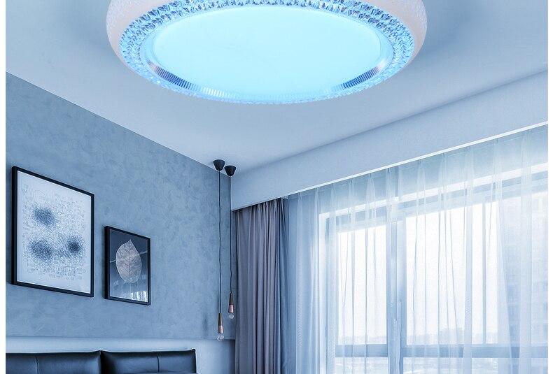 Plafoniere Led Rgb : Plafoniera led rgb multicolore lampada soffitto design vetro
