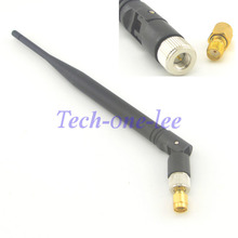 5dbi 2.4GHZ WIFI Antenna SMA Male Modem Router +An Adapter SMA Female to RP-SMA Male(China)