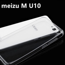 meizu u10 case meilan cover silicon soft tpu back quality transparent thin clear armor accessories 5 inch - zhuozhang electronic commerce Co. Ltd Store store