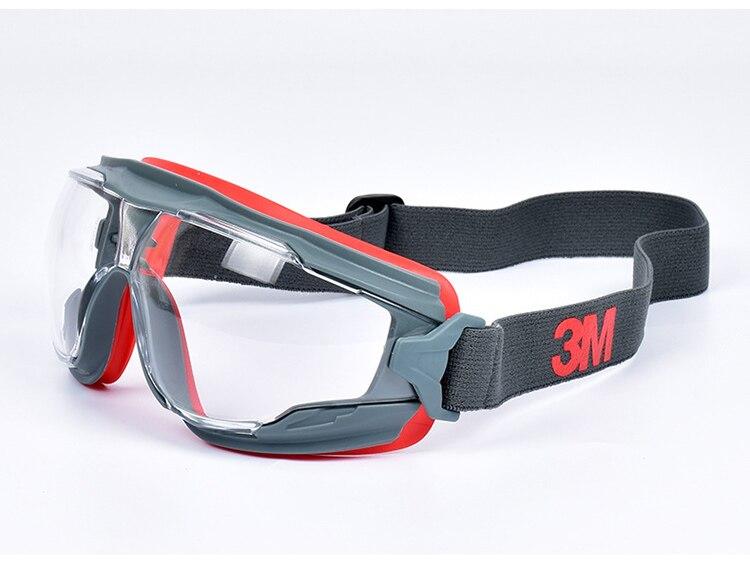 3M GA501 Safety Goggles Windproof Anti-Sand Painted Anti-fog Anti-shock Dustproof Professional Working Eyewear Protective Goggles (9)