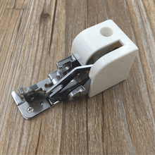 Universal Household Sewing Machine Parts Side Cutter Overlock Presser Foot Press Feet For All Low Shank Singer Janome Brother(China)