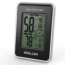 Baldr New Electronic Thermometer Hygrometer Station with Current Humidity and Temperature Indicator Digital Display(China)