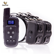 JANPET 2 Dogs Shock Collar with Remote Range 600 Yards Rechargeable & Waterproof Dog Training Collars