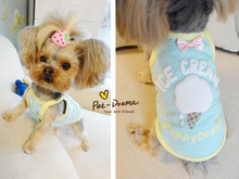 Kawaii Pet Shop Clothes for Dogs Products for Dogs Dog Clothes Pet Coats Clothing for Cats Shirt Ice-cream Pajamas Petco Ice