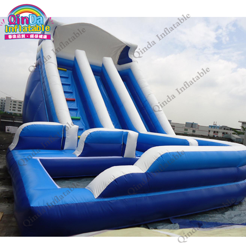 inflatable water slide with pool240