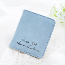 Luxury Brand New Design Female Short PU Leather Wallet Fold multifunction Coin Purse Slim Woman 11 Colors High Quality 40