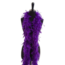 1 PCS Christmas Decorative Purple Color Marabou Feather boa Plume Scarf Halloween clothes/Lady Wedding DIY accessories