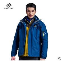 Free shipping,Brand mens charge garments jackets.winter warm fleece Pizex outwear,two-piece waterproof clothing