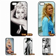 For iPhone 4 4S 5 5C SE 6 6S 7 Plus Galaxy J5 A5 A3 S5 S7 S6 Edge Pamela Anderson Canada Pop Star Mobile Phone Case Cover