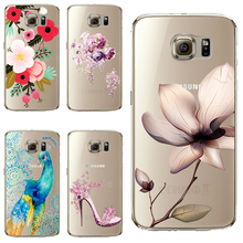 S7 Soft TPU Cover For Samsung Galaxy S7 Case Phone Shell Cases Balloon Flowers Artistic Eyes Cactus Best Choice