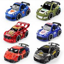 Buy RC Car Toys Children Boys iron Man Captain America Superman Hulk Spiderman Car Christmas Gifts Remote Control YH1203 for $17.90 in AliExpress store