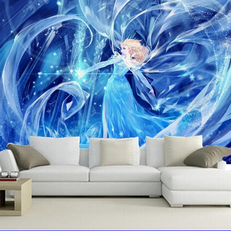 The custom 3D murals,Cartoons Girls wallpapers  papel de parede,living room sofa TV wall bedroom wall paper<br>