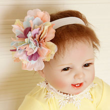Buy 2017 New Colorful Big Flowers Hairbands Girls Headwear Children Headbands Elastic Hair Band Kids Hair Accessories for $2.20 in AliExpress store