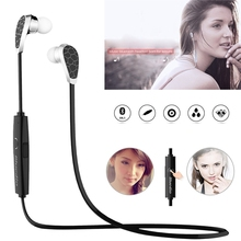 Bluetooth V4.1 Earphone Stereo Earbud Headphone Wireless Sports Headset Multi-point Sweat Proof With Microphone fone de ouvido
