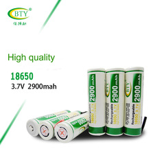 BTY 2900mAH 18650 Battery 3.7V INR 18650B 29E Li-ion Rechargeable Batteries for Power Bank Flashlight Li ion Batteria 18650(China)