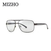 MIZHO All-weather Undertone УФ-защита для вождения фотохромные  солнцезащитные очки мужские Поляризованные алюминиевые be683e5c6fc