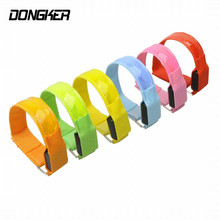 6 Colors Arm Warmer Bike LED Armband Safety Sports Reflective Belt Strap For Cycling/Skating/Party/Shooting(China)