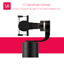 Original XiaoYi Handheld Gimbal 3-Axis Pan/Tilt/Roll Manual Adjustment 320 degree Stabilizer for Xiaomi YI 4K/4K+ Action Camera