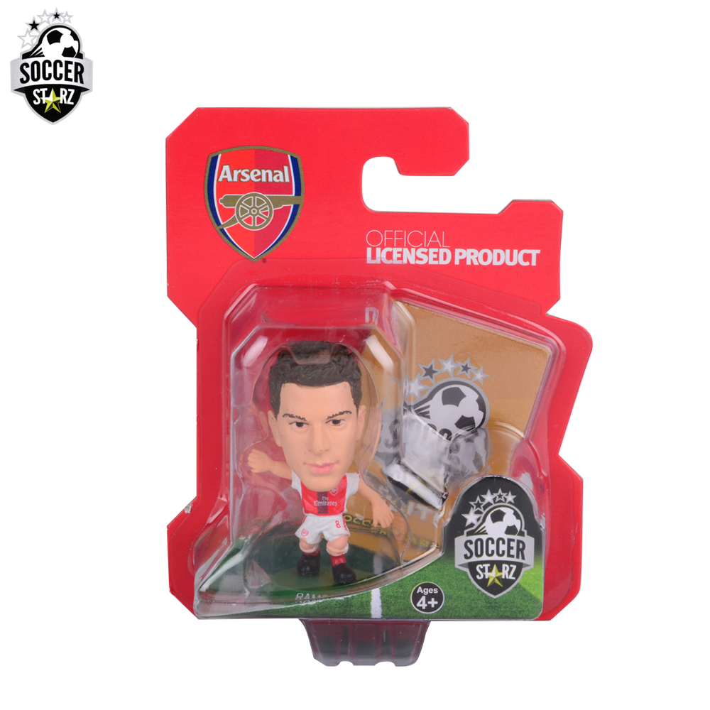 Soccerstarz Hand-painted 5cm Aaron Ramsey - Home Kit (2017 version) /Figures Fashion football star doll value for Collection<br><br>Aliexpress