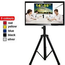 "14-55"" Movable Folding LCD TV Floor Stand TV Mount Cart Display Rack big TV tripod stand TRKX22A"