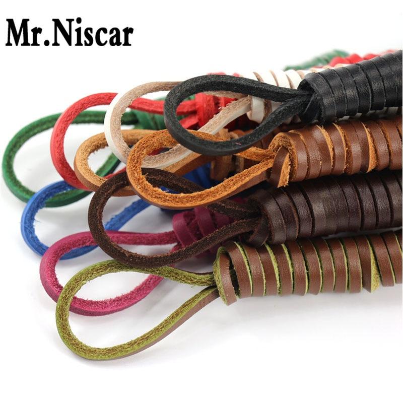 1 Pair Cowhide Square Shoelaces Boat Shoes Shoe Laces Retro Leather Boots Shoestring Length 60-200 CM<br><br>Aliexpress