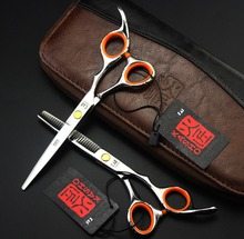 5.5/6 Inch Kasho Scissors Hairdressing Professional Hair Scissors High Quality Barber Shears Set Cutting Thinning Salon Products