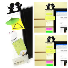 Angel / Owl Computer Monitor Screen Post-it Board Holder: Memo paper Sticky Note W15(China)