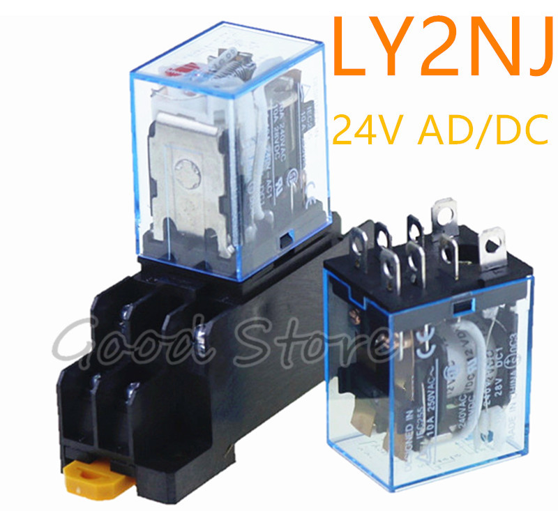DPDT 40 A 5-120 V Ac POWER RELAY ONE FREE