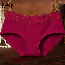 New cheap hot sell Ms fashion sexy brand women's briefs short original single cotton girl underpants alphabet womans underwears