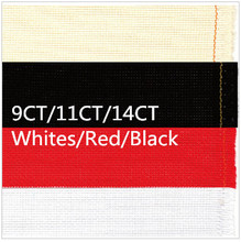 Cross Stitch Canvas 200X100cm  Factory Shop  Aida Cloth  9CT OR 11CT OR 14CT   Fabric Whites or Red or Black  Or Make Any Size
