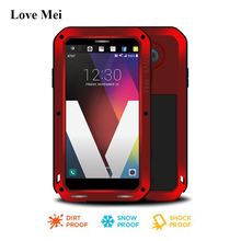 Love Mei Armored Metal Aluminum Case Cover For LG V20 (5.7 inch) Coque Powerful Shell Capa Water/Shock/Rain Proof Fundas Housing