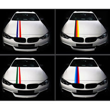 Car Covers Sticker Badge Emblems Car-Styling Case For BMW M Colors German Russia France Italy Flag Car Accessories Car Styling
