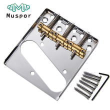 3 TL Saddle Ashtray Saddle Bridge With Screws For Fender Telecaster TELE Electric Guitar(China)