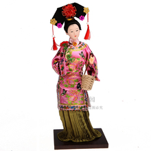Decoration Arts crafts girl gifts get married Home Furnishing ornaments product Chinese silk doll doll palace ladies Princess Do(China)