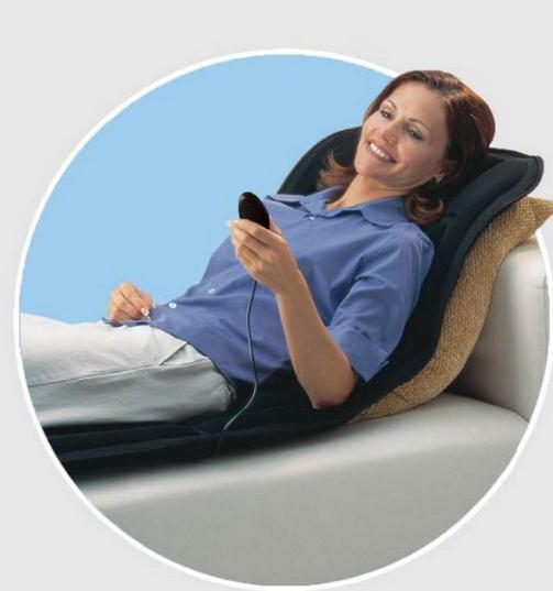 Healthy body massage pillow vibration massage cushion far infrared heating electric massager<br>