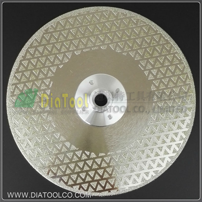 7/180mm Electroplated Diamond cutting &amp; grinding discs for marble &amp;  granite with M14 Flange, diamond blade<br><br>Aliexpress