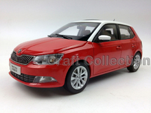 Red 1:18 Volkswagen VW SKODA New Fabia 2015 Diecast Model Car Classic Toys