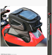 Free shipping Komine SA-051 10.5L Oil Fuel Tank Bag Magnetic Motorcycle Motorbike Oil Fuel Tank Bag saddle bag w/ Bigger Window