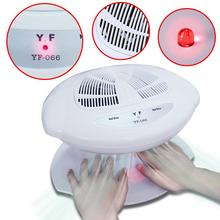 Beau Gel Smart Nail Polish Dryer Nail Air Dryer Fan Auto Induction Warm & Cool Wind Auto Sensors Nail Art Manicure Tool