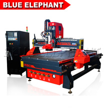 Blue Elephant CATC CNC Milling Machine/ CNC Router with Dust Collection System/ 9kw HSD Air Cooling Spindle 1300*2500mm Bed CNC(China)