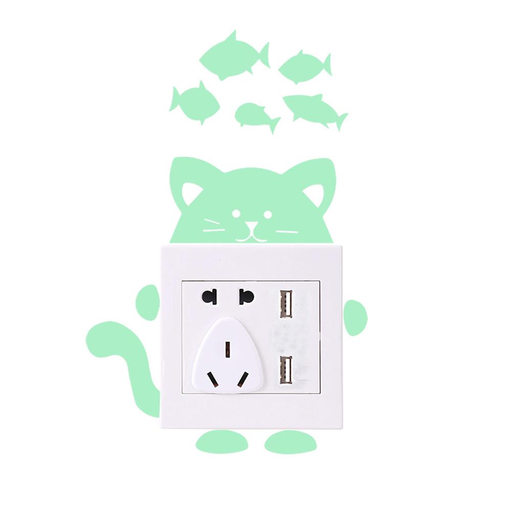 26 Styles Luminous Cartoon Switch Sticker Glow in the Dark Cat Sticker 26 Styles Luminous Cartoon Switch Sticker Glow in the Dark Cat Sticker HTB1VSXQkv2H8KJjy0Fcq6yDlFXal